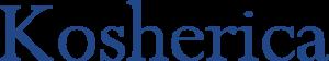 Kosherica logo blue for kosher luxury travel